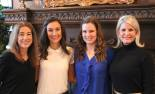 Membership to the Junior League of Kansas City, Missouri is a family affair. Left to right:  Carrie Fotopoulos Barnthouse, Kristi Barnthouse McNearney, Maggie Murphy Barnthouse and Angie Fotopoulos.