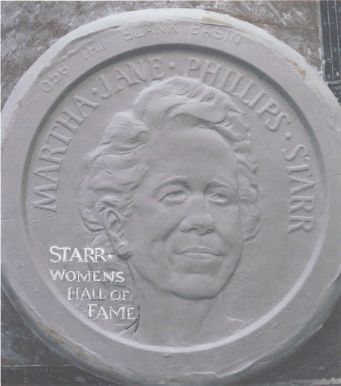 March 3 starr womens HOF award